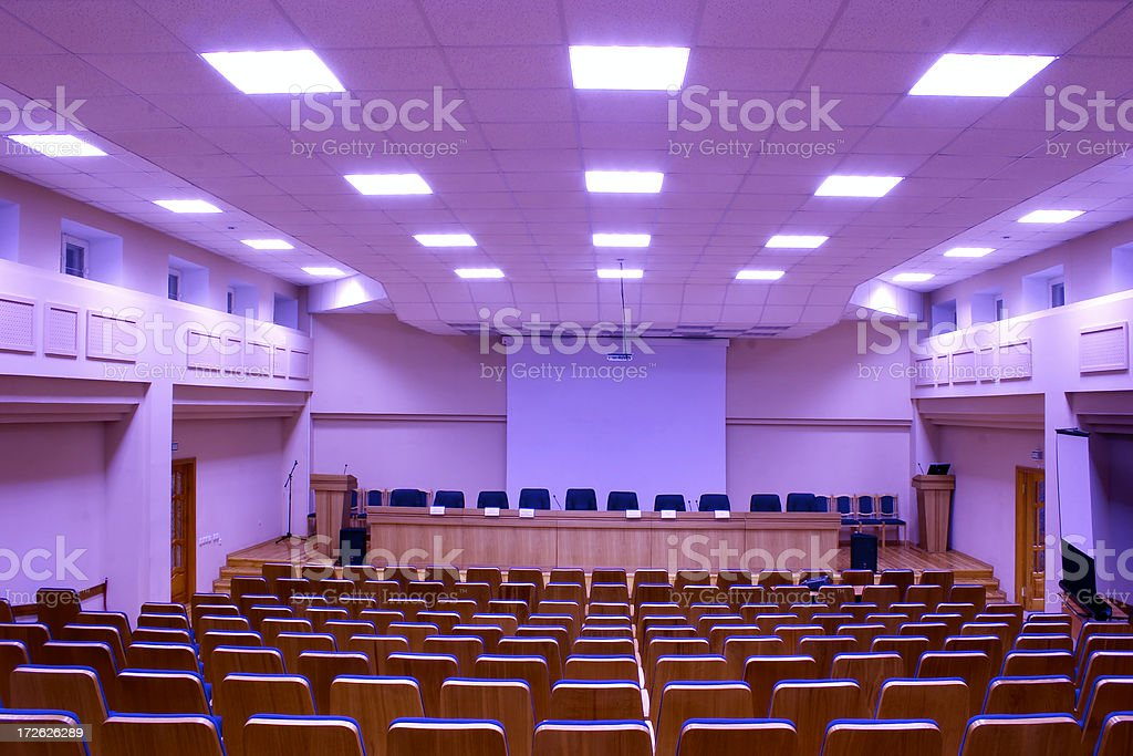Conference hall - 12 royalty-free stock photo