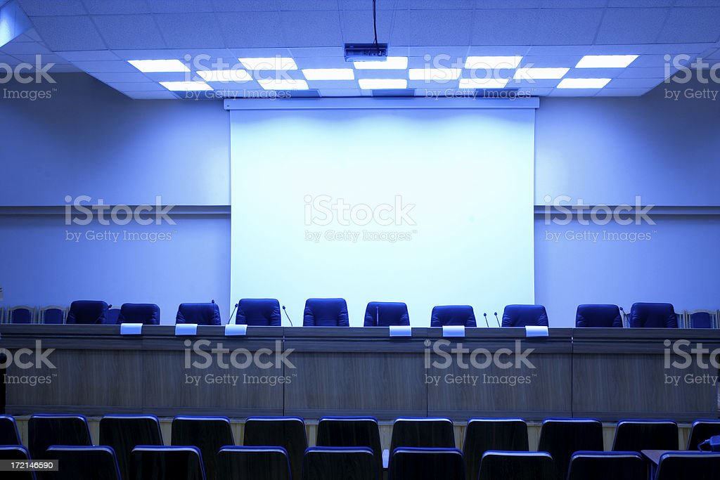 Conference hall - 14 royalty-free stock photo
