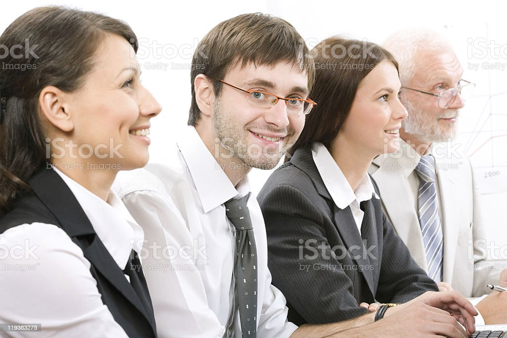 Conference royalty-free stock photo
