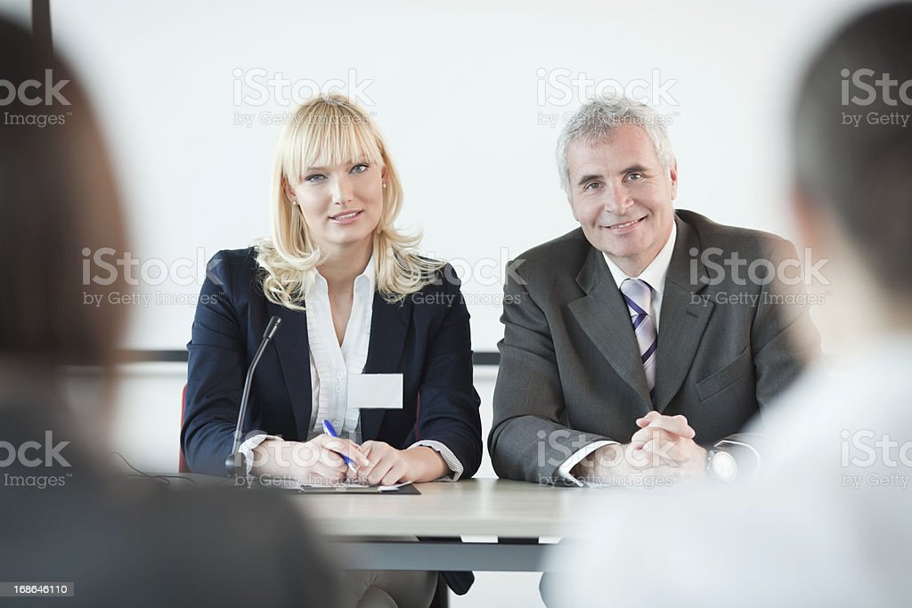 Conference. stock photo
