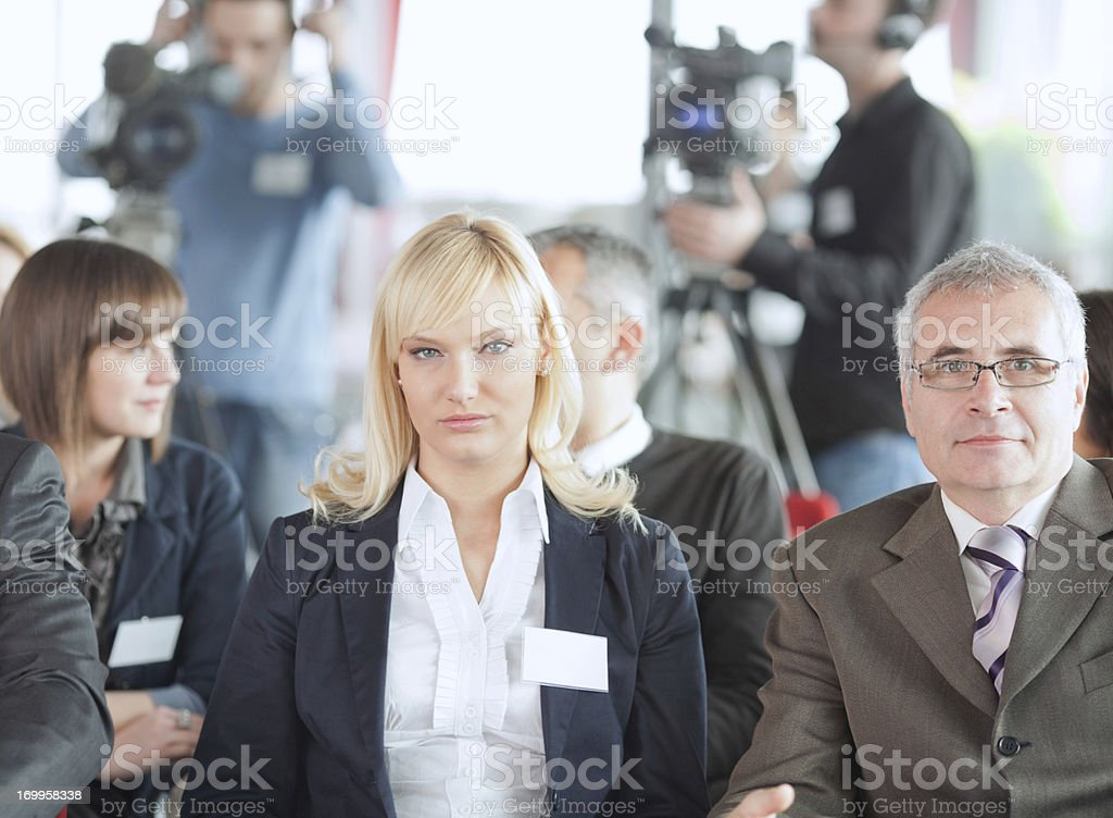 Conference. royalty-free stock photo