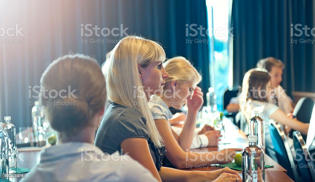 Conference stock photo