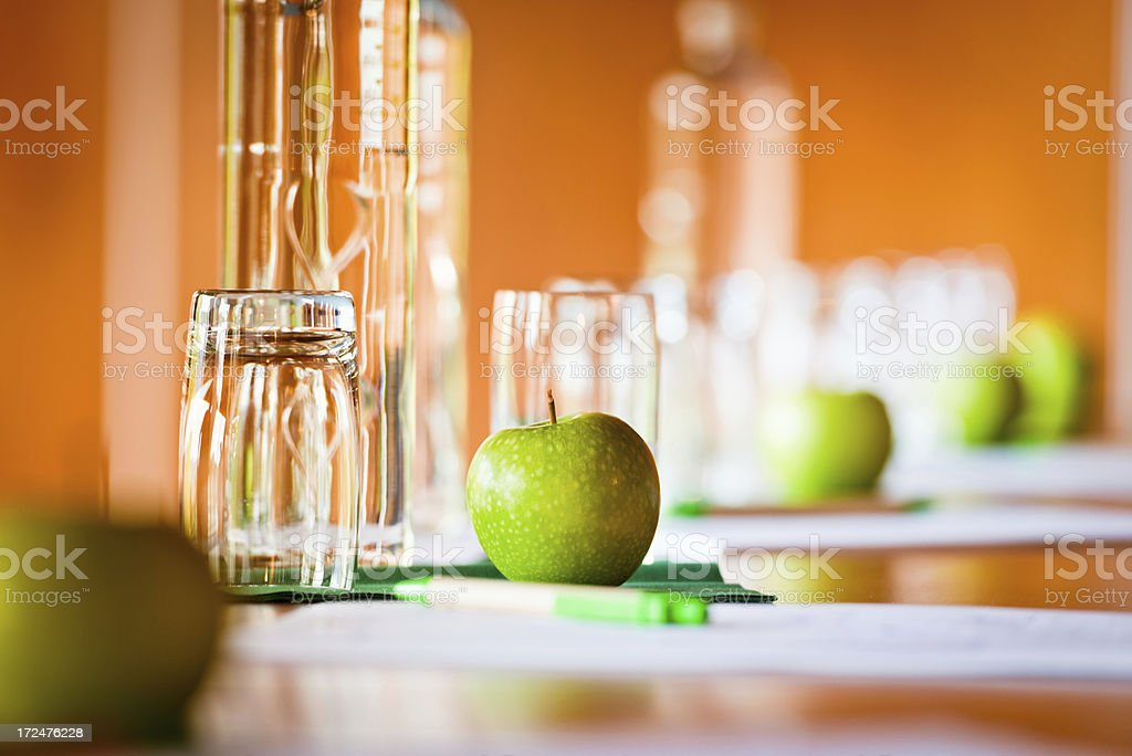 Conference Refreshments royalty-free stock photo