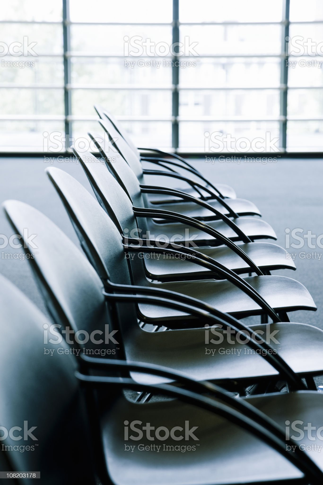 Conference Room Empty Seat royalty-free stock photo