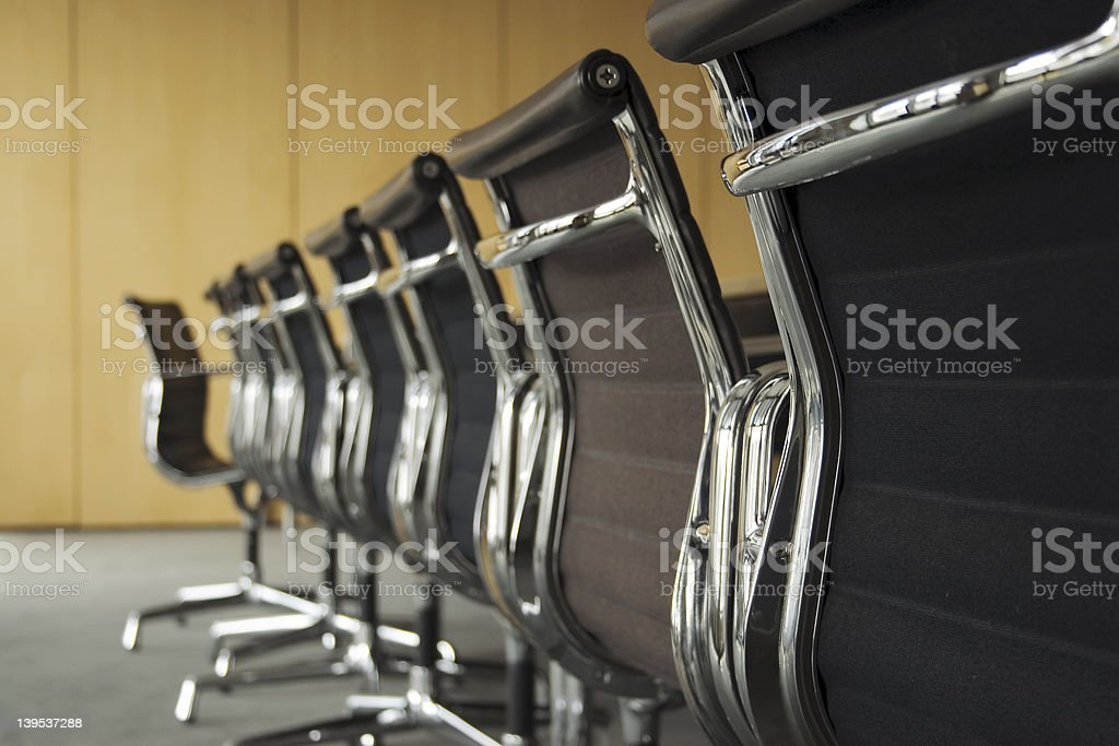 Conference room horizontal royalty-free stock photo