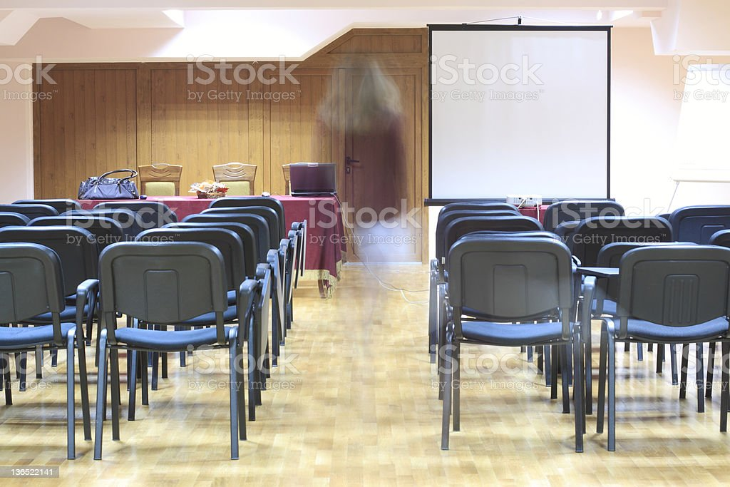 Conference room royalty-free stock photo