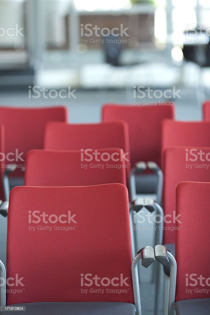 Conference room. royalty-free stock photo