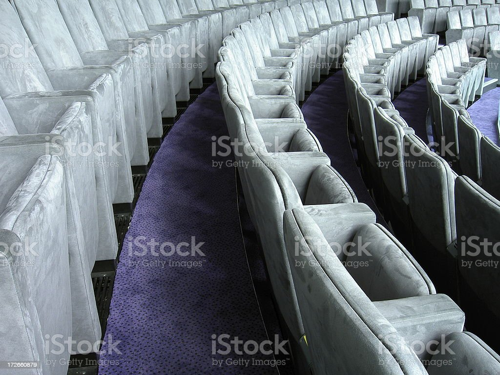 Conference Seating royalty-free stock photo