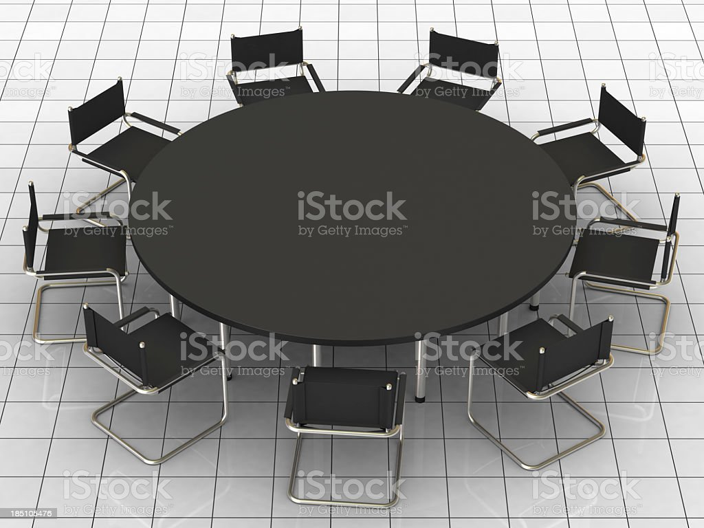 Conference Table II royalty-free stock photo