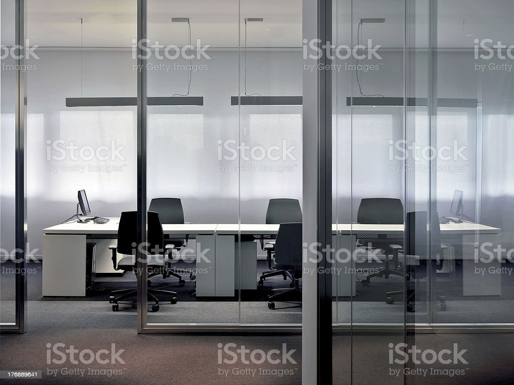 Conference table / work bench royalty-free stock photo