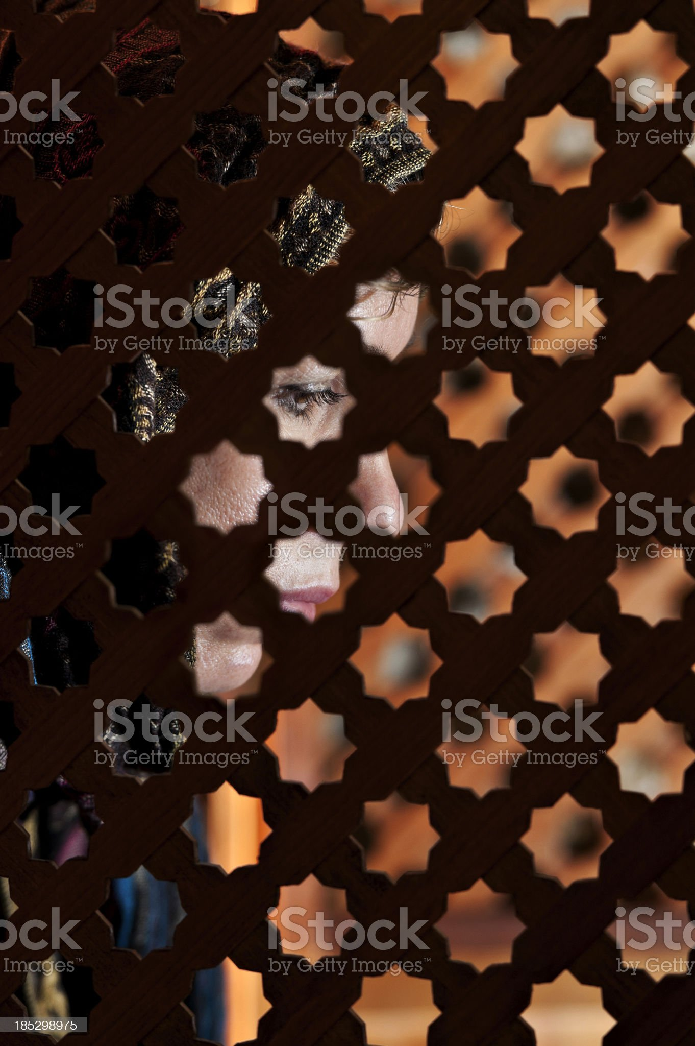 Confessing royalty-free stock photo