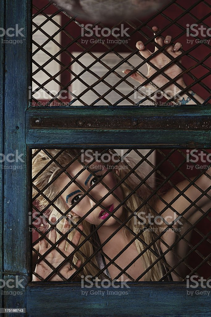 Confession of a sexy woman royalty-free stock photo