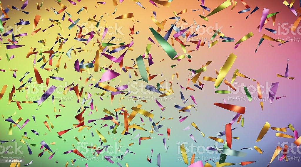 Confetti A02 stock photo