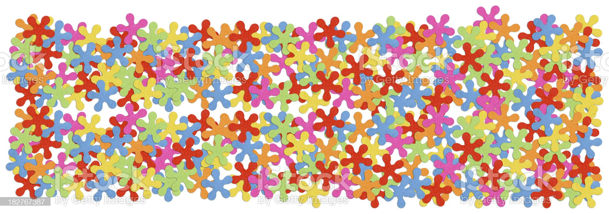 Confetti background royalty-free stock photo