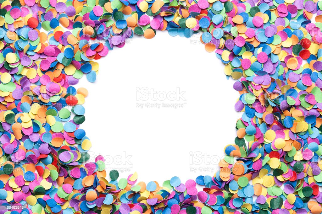 confetti background stock photo