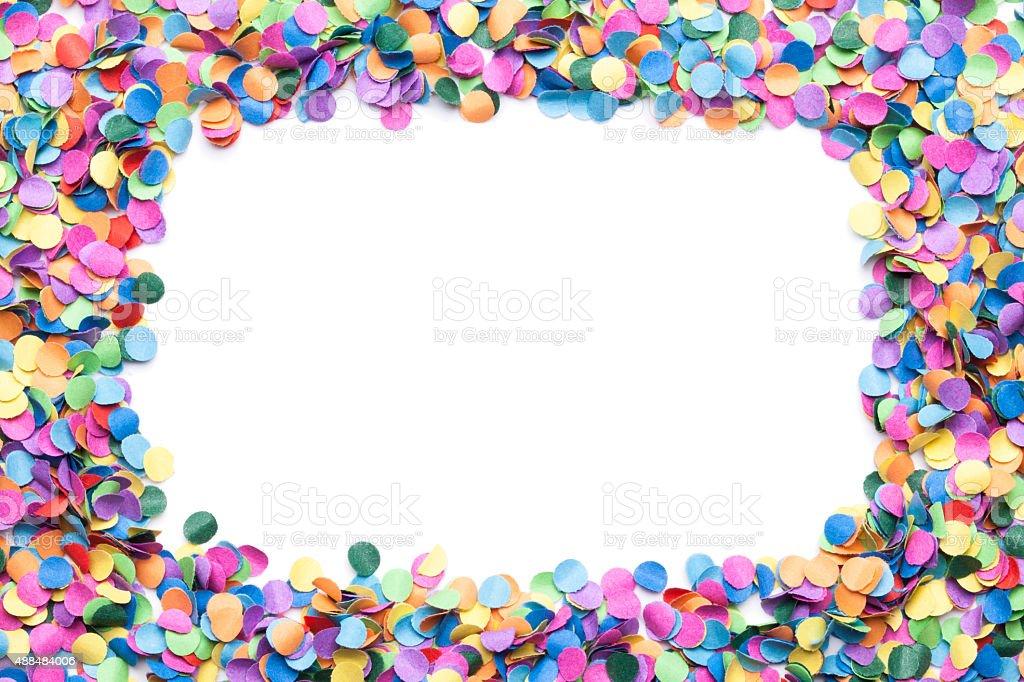 confetti background stock photo