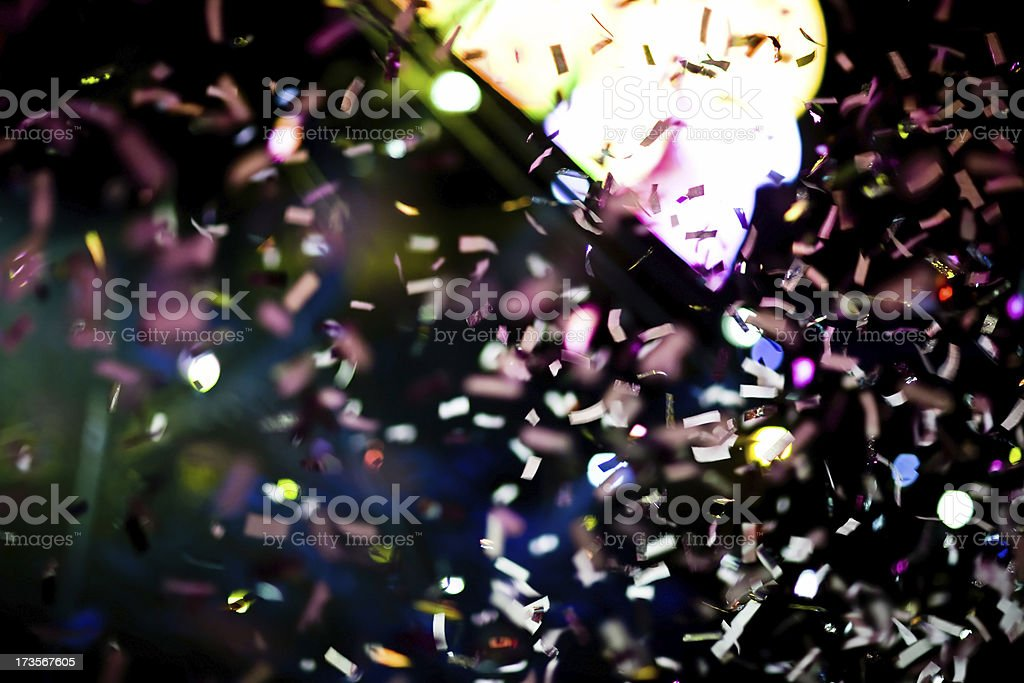 Confetti Celebration royalty-free stock photo