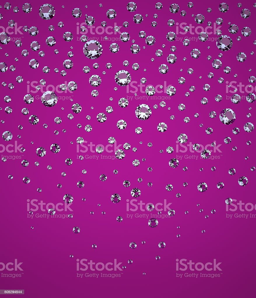 Confetti of Brilliants stock photo