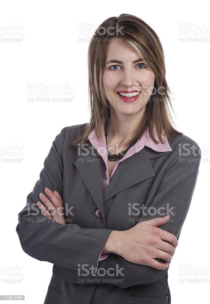 Confidant Business Woman royalty-free stock photo