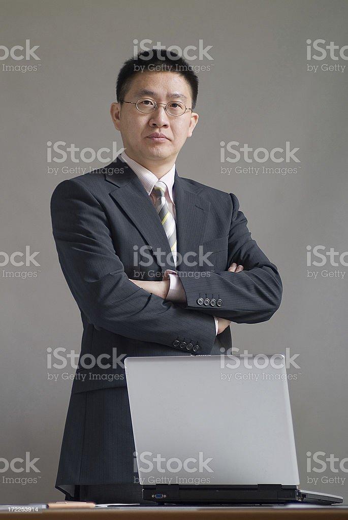 Confidence Businessman royalty-free stock photo