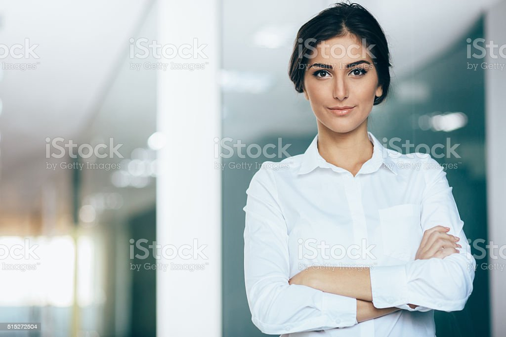 Confidence in business stock photo