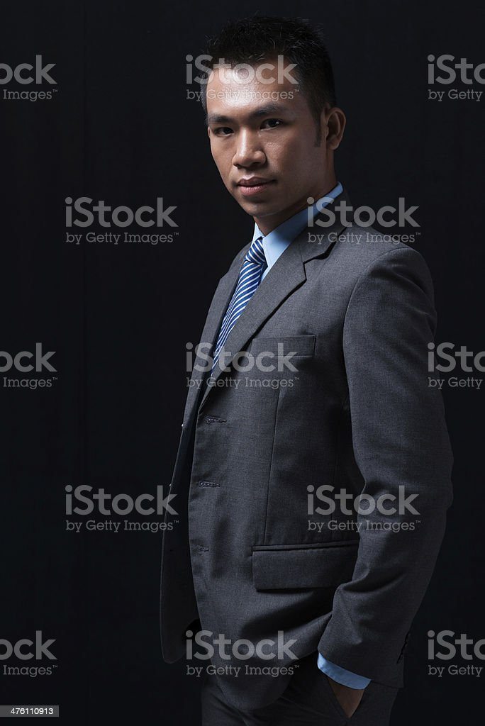 Confidence in everything royalty-free stock photo