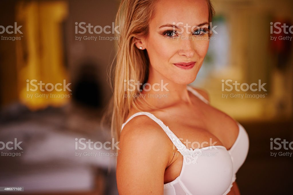 Confidence is like a invisible crown stock photo
