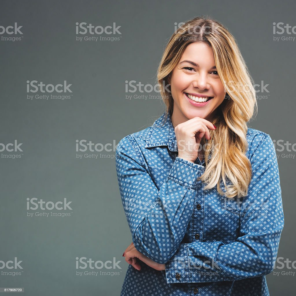 Confidence matters stock photo