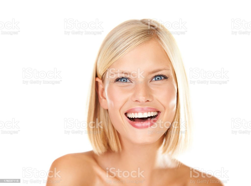 Confidence with my new skin - Pimple free stock photo