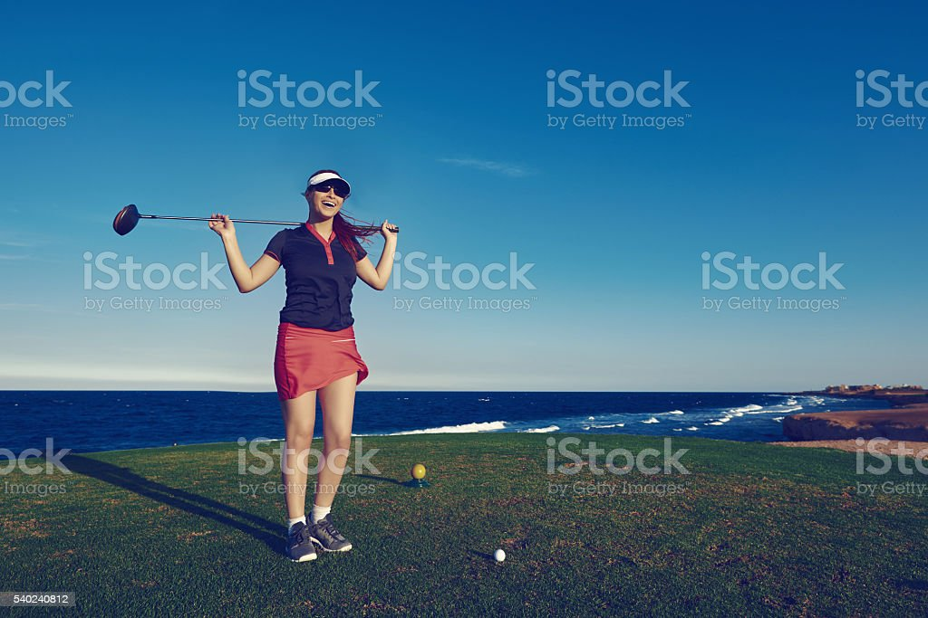 confident about my game stock photo