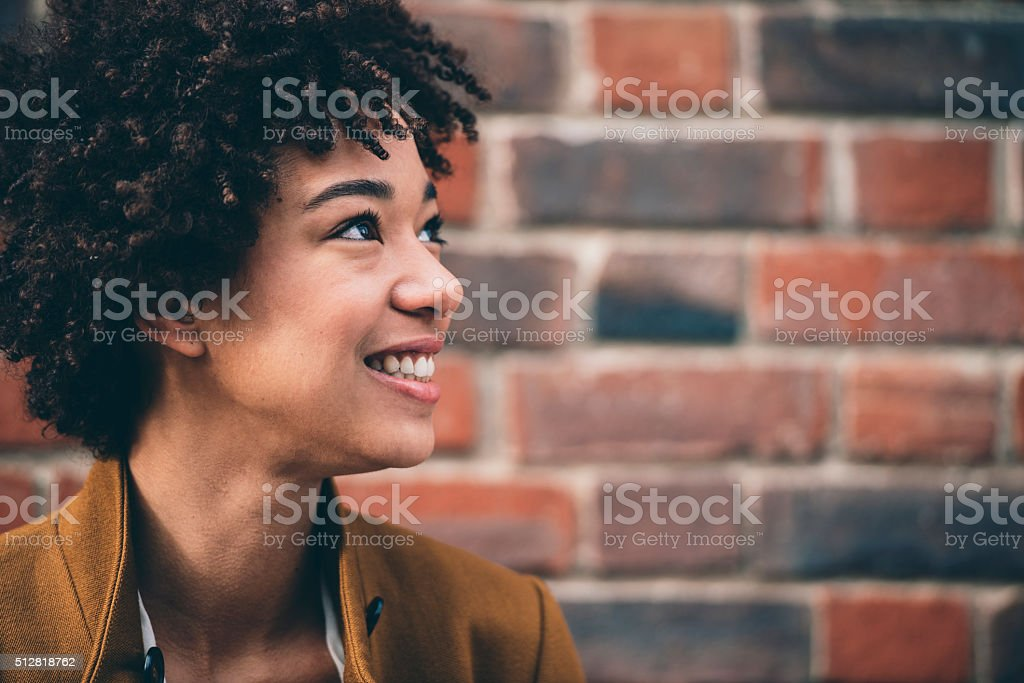 Confident and beautiful stock photo