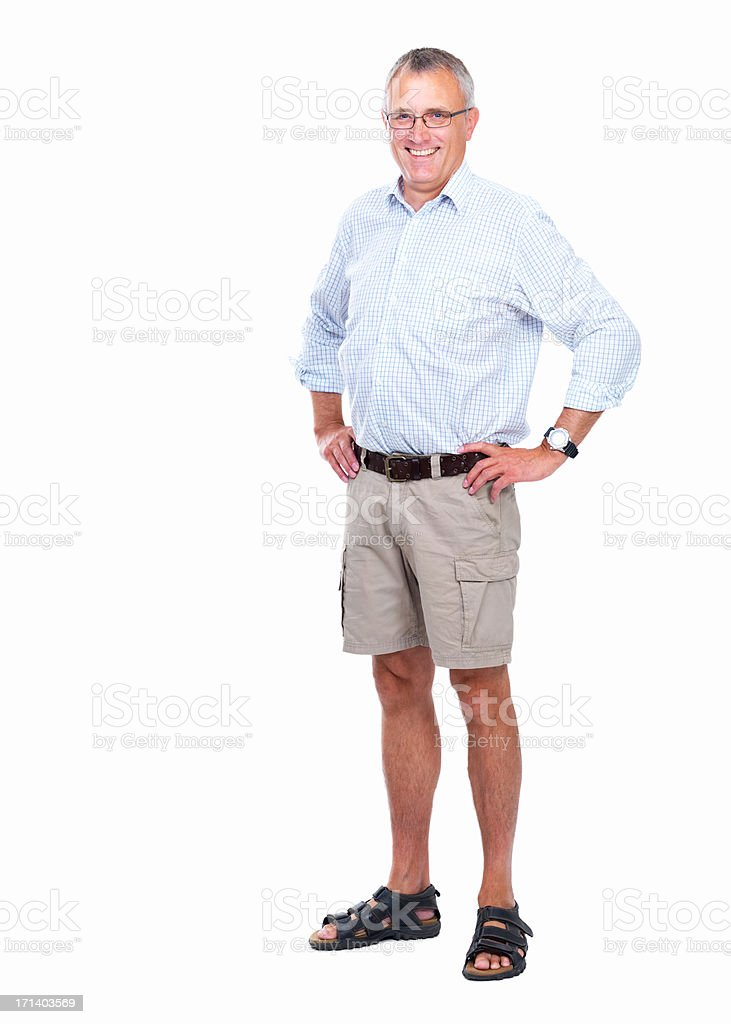 Confident and mature stock photo