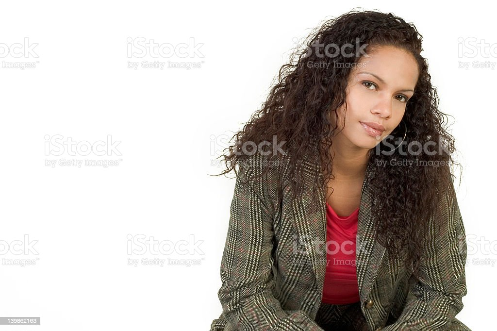 Confident and Sexy royalty-free stock photo