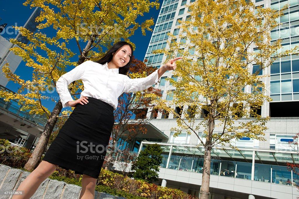 Confident Asian Female Executive royalty-free stock photo