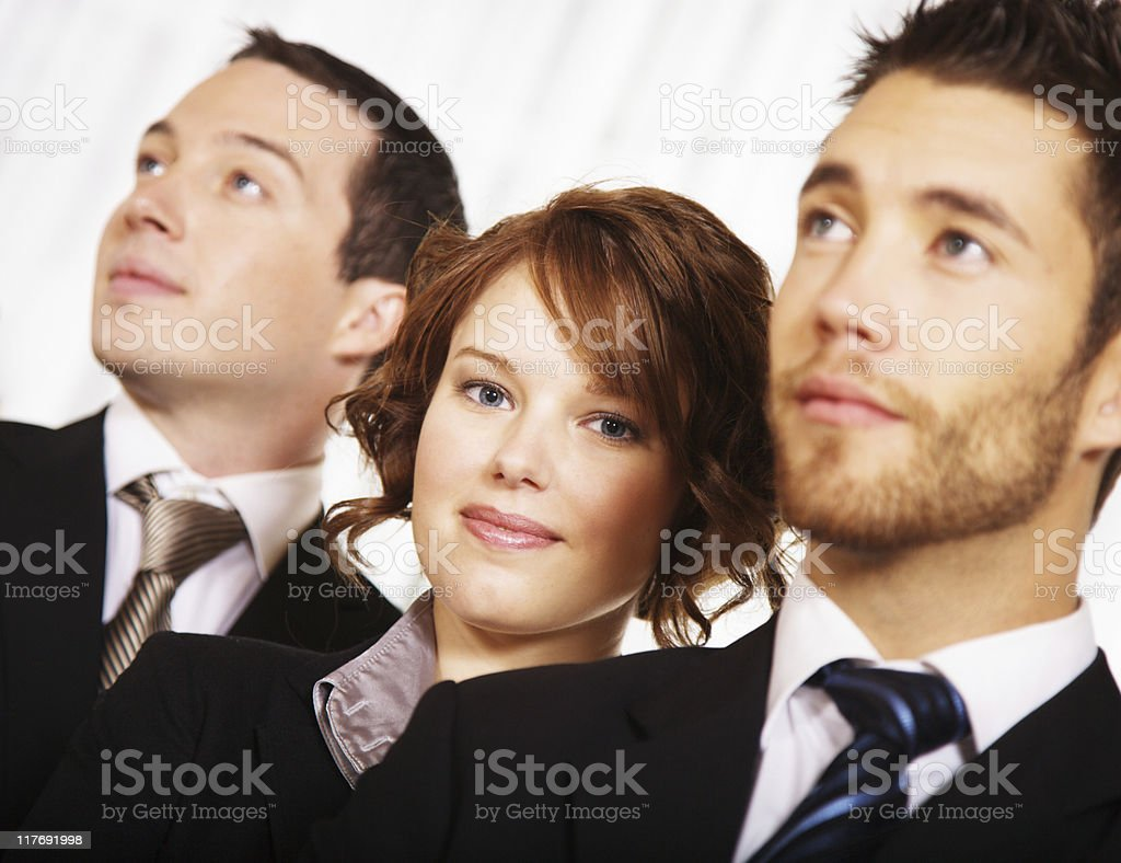 Confident business partners stock photo
