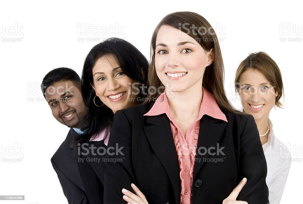 Confident Business Team royalty-free stock photo