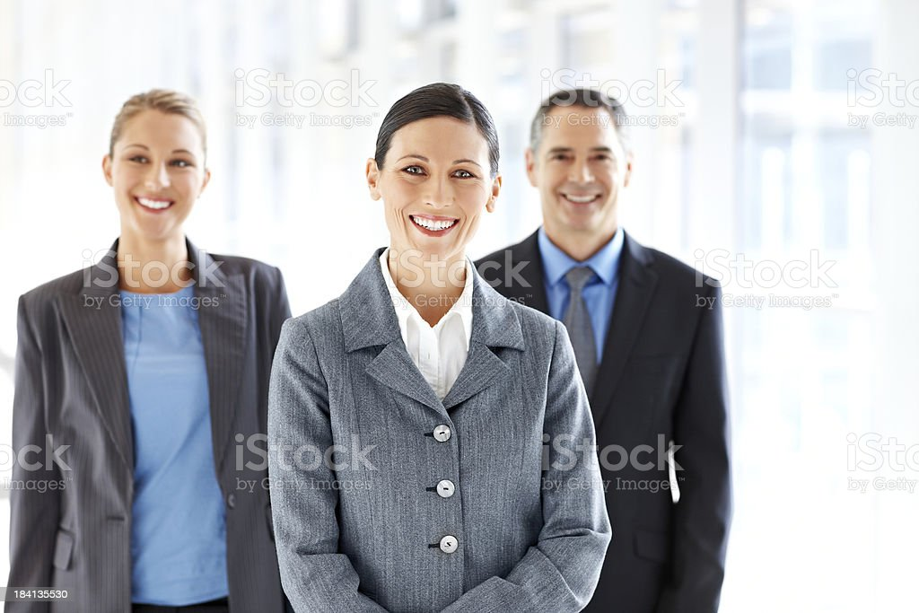 Confident Business Team Portrait stock photo