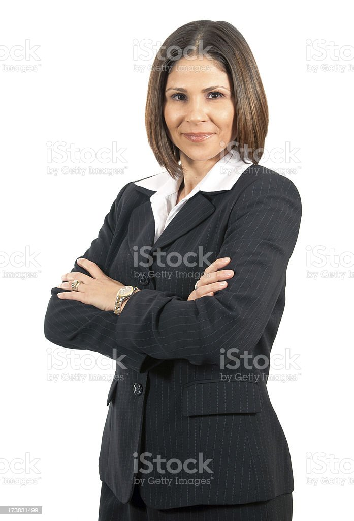 Confident Business Woman royalty-free stock photo