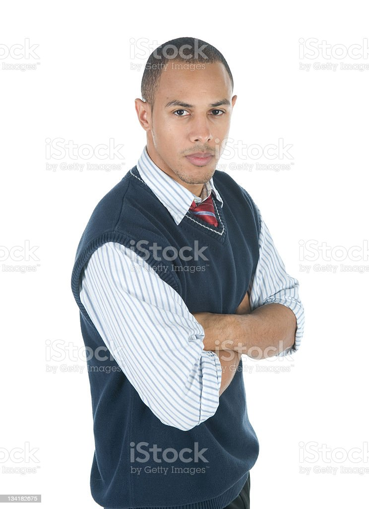 Confident Businessman royalty-free stock photo