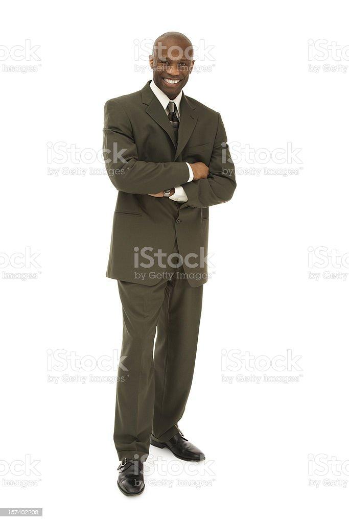 Confident Businessman royalty-free stock photo