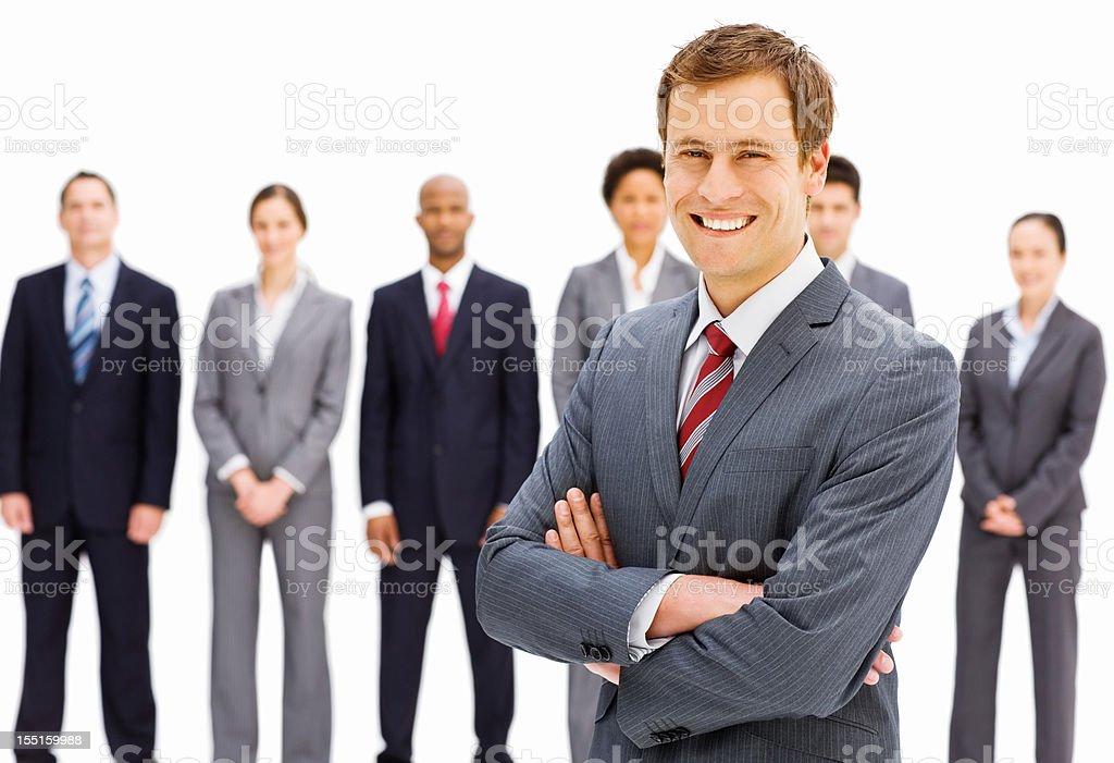 Confident Businessman Portrait royalty-free stock photo