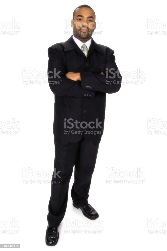 Confident Businessman Standing stock photo