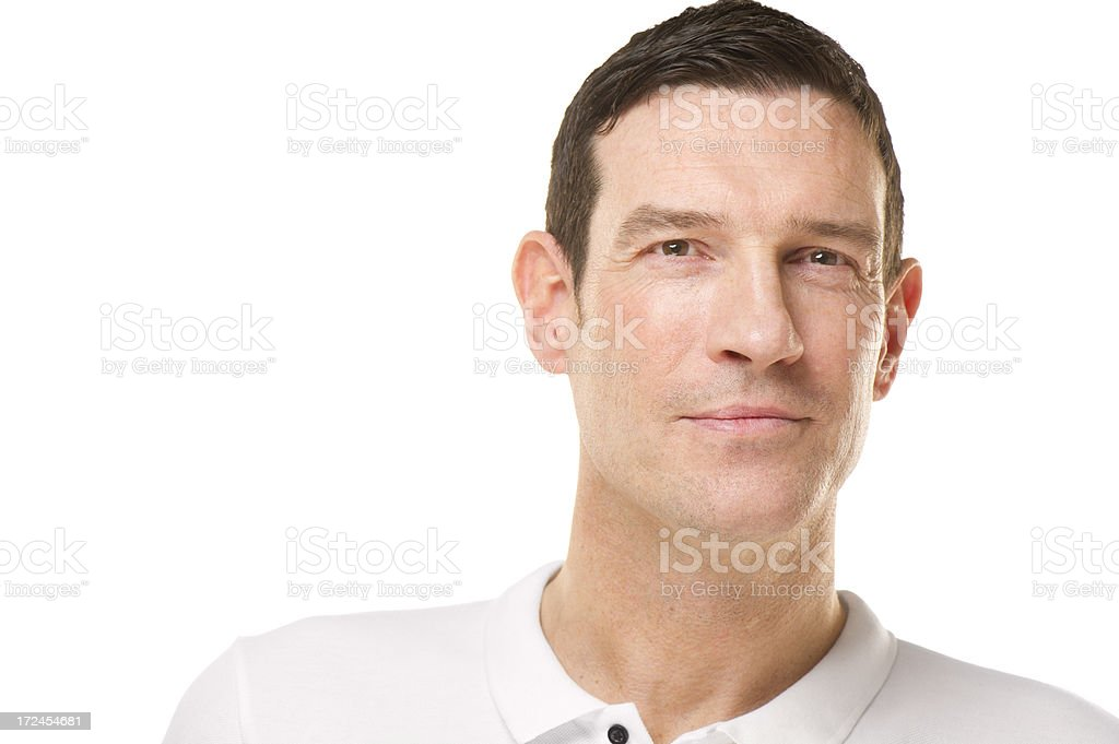 confident casual man portrait royalty-free stock photo