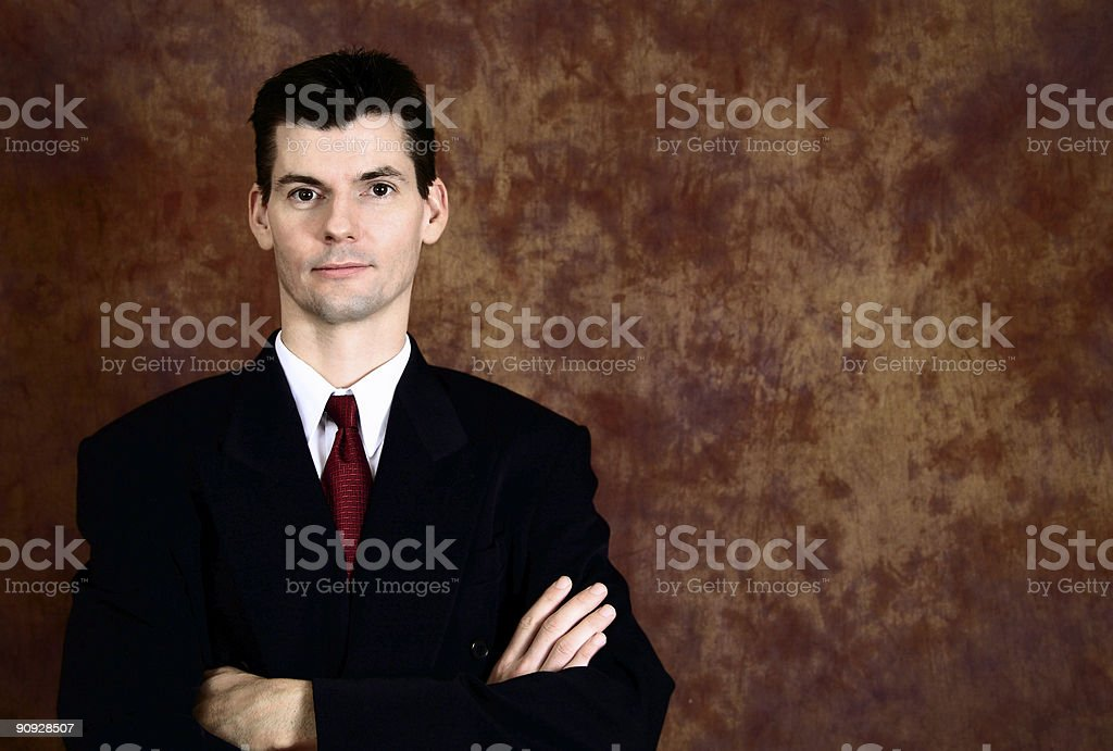 Confident Executive stock photo