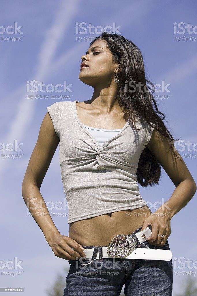 confident girl 2 royalty-free stock photo