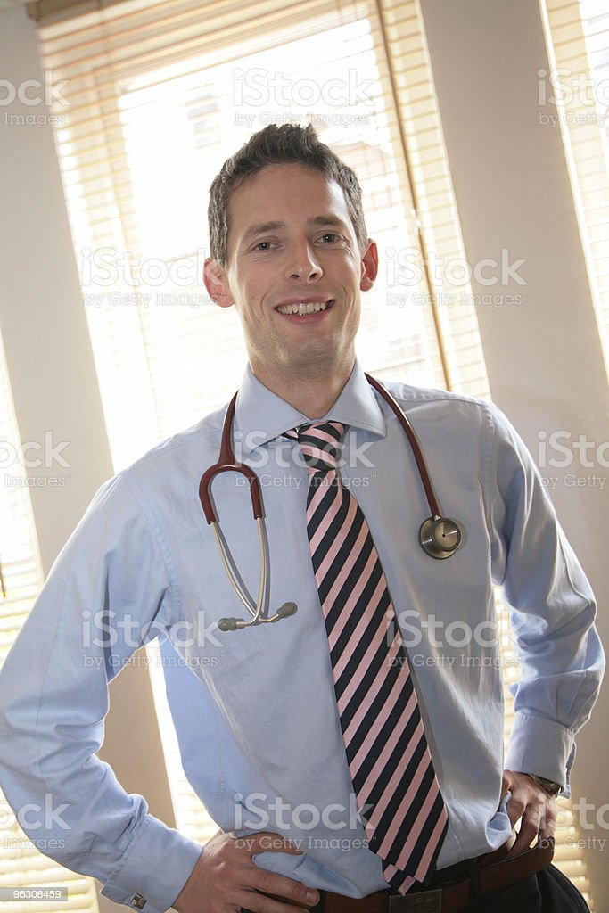 Confident Happy Doctor royalty-free stock photo