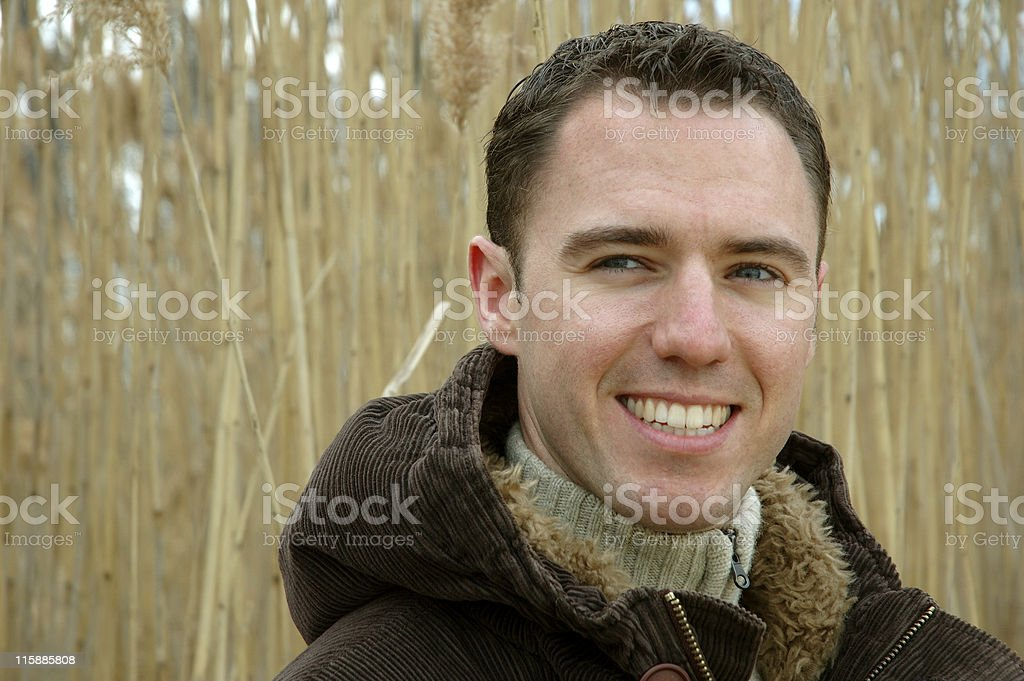 Confident, Happy Young Man royalty-free stock photo