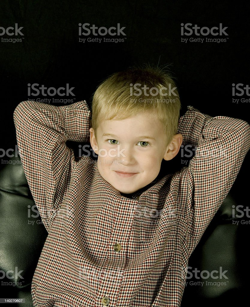 Confident Kid royalty-free stock photo