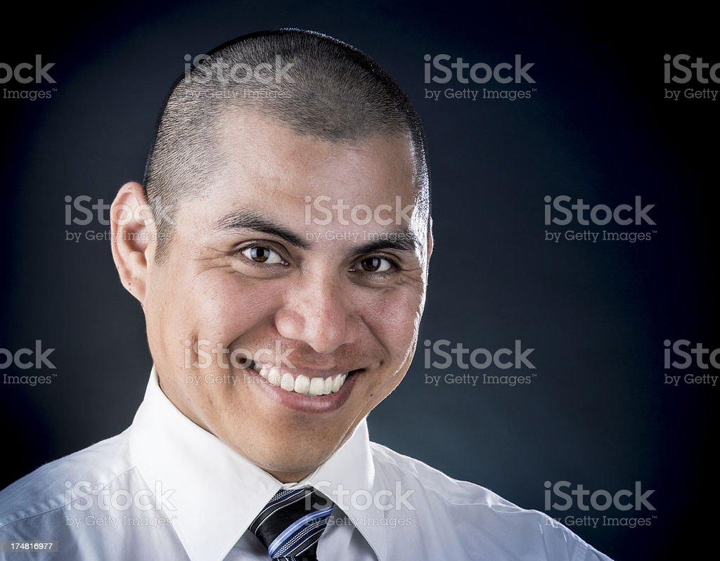 Confident Latino Professional royalty-free stock photo