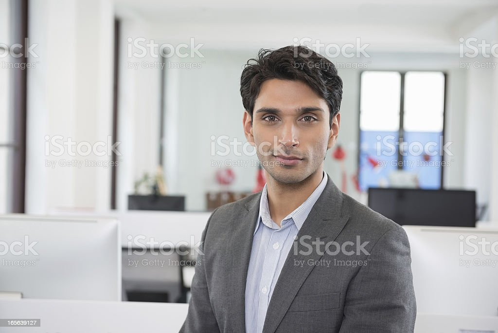 Confident Male Business Executive stock photo